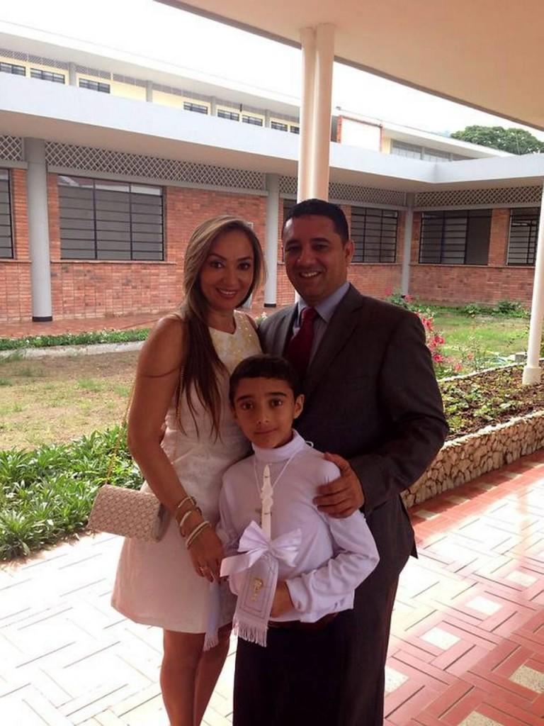Adriana Noreña, Juan Miguel Ramírez y Carlos Gustavo Ramírez.  - Laura Herrera /GENTE DE CAÑAVERAL