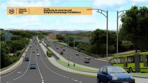 El tramo del proyecto pasaría de 6 carriles al 10, por ahora sigue la negociación de predios.  - Archivo /GENTE DE CAÑAVERAL