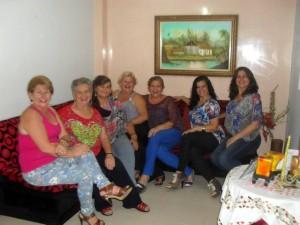 Graciela Forero, Socorro Forero, Lucila Forero, Ofelia Forero, Irene Forero, Jacqueline Forero y Maritza Forero.  - Suministrada /GENTE DE CAÑAVERAL