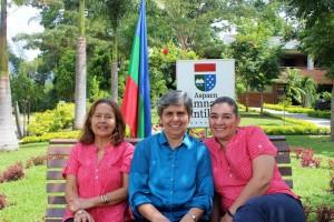 Docentes fundadoras Gimnasio Cantillana,  Amparo Amorocho Rincón, Gloria Mantilla Rodríguez y Cristina Pérez Torres.  - Suministrada/GENTE DE CAÑAVERAL