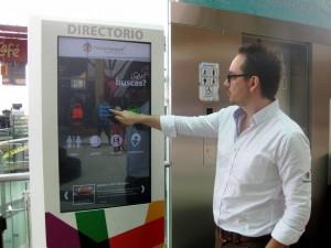 En en complejo comercial hay 8 pantallas que funcionan de la misma manera que la app.  - Audry Laguado / GENTE DE CAÑAVERAL
