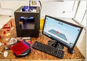 Esta es la impresora 3D.  - Siministrada/GENTE DE CAÑAVERAL