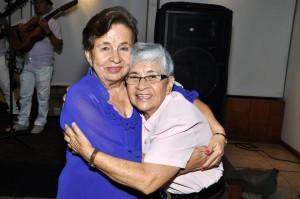 Cecilia de Plata y Angelina Mora.  - Laura Herrera /GENTE DE CAÑAVERAL