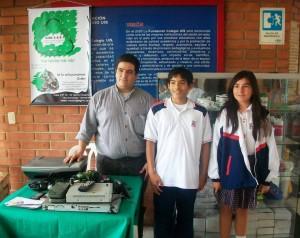 La comunidad de la FCUIS trabaja para ayudar al medio ambiente por medios de proceso de recolección de material reciclable. - Suministrada/GENTE DE CAÑAVERAL
