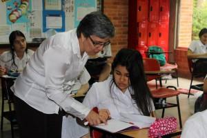 Estudiantes y docentes comparten momentos importantes