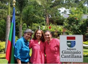 Las profesoras, Gloria. Amparo y Cristina están con Aspaen desde sus inicios.  - Suministrada/GENTE DE CAÑAVERAL