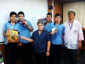 Estos fueron los ganadores de la jornada artística de la FCUIS.  - Suministrada/GENTE  DE CAÑAVERAL