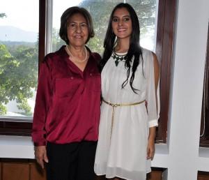 Gloria de Arenas y Laura Arenas.  - Laura Herrera /GENTE DE CAÑAVERAL