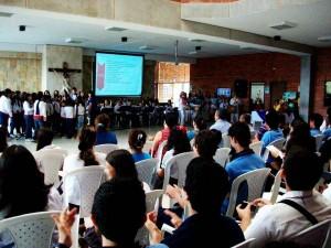 Los estudiantes asistieron al encientro de Filosofía.  - Suministrada/GENTE DE CAÑAVERAL
