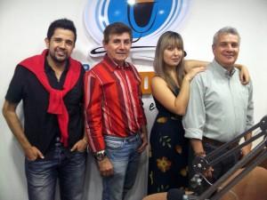 Juan Carlos Aguirre, Juan José Peñaloza, Natalia Sánchez, y Fernando Otero Serrano, director general. - Suministrada / GENTE DE CAÑAVERAL