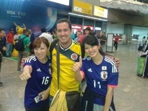 Estas son las jóvenes japonesas con quienes se encontraron