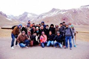 Estos son algunos de los estudiantes que viajaron.  - Suministrada/GENTE DE cAÑAVERAL