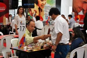 En este encuentro se lograron buenos negocios para los productores locales.  - Suministrada/GENTE DE CAÑAVERAL