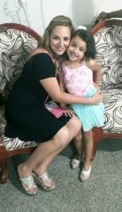 Luciana es madre de dos niños y hace ocho años vive en Colombia