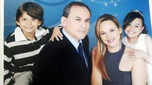 Luciana nació y se crió en Brasil, pero fue un colombiano quien le robó el corazón, ahora viven en Santander