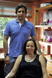 Marta Patricia vive con su hijo en las instalaciones de la Aldea de Floridablanca. - Laura Herrera/GENTE DE CAÑAVERAL