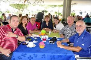Sergio Gómez, Margarita Pérez, Víctor Gómez, Constanza Arenas, María Jimena Gómez, Eduardo Gómez y Herman Alfonzo.  - Laura Herrera /GENTE DE CAÑAVERAL