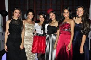 Valentina Arroyave, María Paula Blanco, Valentina Durán, Silvia Castillo, Camila Moncada y Andrea Rueda.  - Laura Herrera /GENTE DE CAÑAVERAL