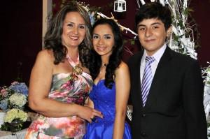 Luz Amparo Balcázar Navarro, María José Cavanzo y Juan José Cavanzo - Laura Herrera/GENTE DE CAÑAVERAL