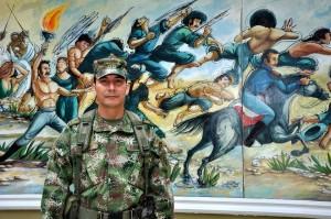 Desde muy joven José Alejandro López sabía que quería ser militar. En la actualidad es Coronel.  - Didier Niño/GENTE DE CAÑAVERAL