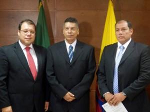Los funcionarios tomaron posesión ante el alcalde Carlos Roberto Ávila Aguilar. - Suministrada / GENTE DE CAÑAVERAL