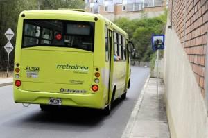 Los usuarios piden cambios para la parada de Metronínea.  - Didier Niños/GENTE DE CAÑAVERAL