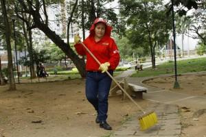 Sonia espera la colaboración de la comunidad de Cañaveral para mejorar La Pera.  - César Flórez /GENTE DE CAÑAVERAL
