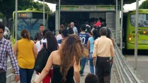 Los usuarios del transporte masivo piden vigilancia y control. - Archivo/GENTE DE CAÑAVERAL