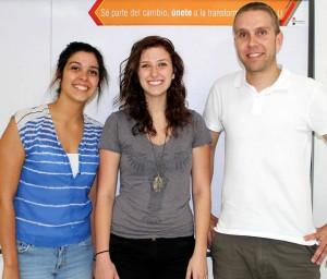 Kayla Tulane, Milena Parra y Thomas Baumli - Suministrada/GENTE DE CAÑAVERAL