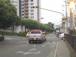 La comunidad espera que el semáforo sea reparado . Audry Laguado/GENTE DECAÑAVERAL