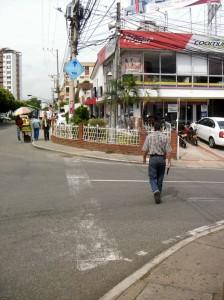 La comunidad pide señalización.  - Suministrada/GENTE DE CAÑAVERAL