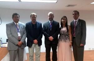 Alejandro Niño, Francesc Moreso, Fernando Girón, Ingrid Daza y Antonio Cabezas. - Suministrada /GENTE DE CAÑAVERAL