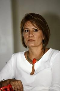 Claudia Marcela Pérez, gerente La Florida centro comercial