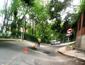 La comunidad pide el arreglo de las calles.  - Suministrada/GENTE DE CAÑAVERAL