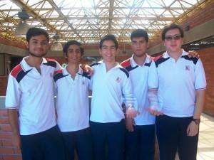 Estos son los estudiantes que se quedaron con el segundo puesto.  - Suministrada/GENTE DE CAÑAVERAL