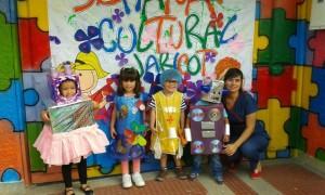 Los estudiantes hacen parte de la semana cultural.  - Suministrada/GENTE DE CAÑAVERAL