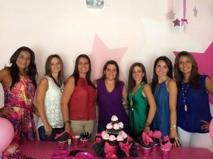 Ximena Pilonieta, Silvia Serrano, Monique Gay, Silvia Barraquer, Juliana Dorado, Margarita Serrano Mónica Abril.  - Laura Herrera/GENTE DE CAÑAVERAL