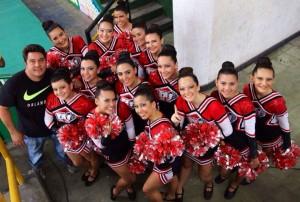 Esas jovencitas son líderes deportistas de Floridablanca.  - Suministrada/GENTE DE CAÑAVERAL