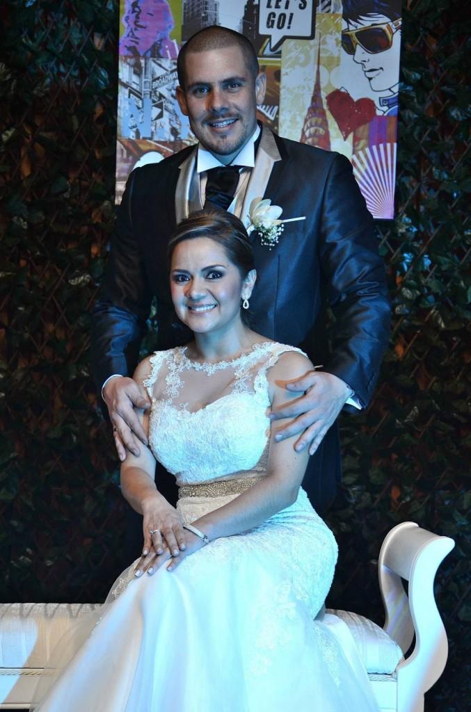 Paola Andrea Chávez y Diego Andrés Sepúlveda.  - Hernando Galeano /GENTE DE CAÑAVERAL