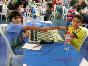 El pequeño Juan David quedó en quinto lugar en el torneo. - Suministrada/GENTE DE CAÑAVERAL