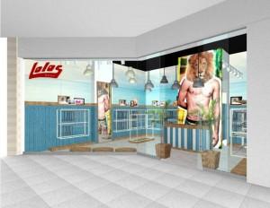 Esta es la primera tienda que Lolos que abre en Santander, toda la producción es del departamento.