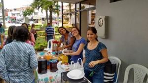 La comunidad se vinculó a la actividad que buscaba reunir fondos para la fundación.  - Suministrada/GENTE DE CAÑAVERAL