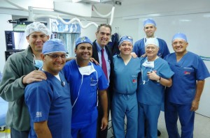 Este fue el equipo médico que realizó este nuevo procedimiento.  - Suministrada/GENTE DE CAÑAVERAL