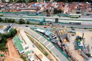 La obra ha presentado retrasos por dificultades con las redes eléctricas.  - Javier Gutiérrez / GENTE DE CAÑAVERAL