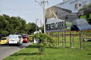 La comunidad que vive en el sur teme por los trancones que se puedan armar en la autopista.  - Laura Herrera / GENTE DE CAÑAVERAL