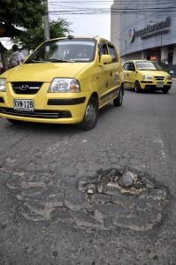 La comunidad ha pedido desde hace mucho tiempo el arreglo de la malla vial.  - Archivo / GENTE DE CAÑAVERAL