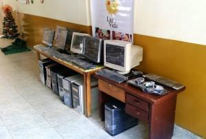 Este fue el primer lote de equipos entregados el 6 de diciembre a la Fundación Luz y Vida. - Suministrada / GENTE DE CABECERA