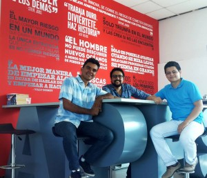 Estos son los emprendedores de 'Feliz viaje' un proyecto netamente santandereano.  - Suministrada / GENTE DE CAÑAVERAL