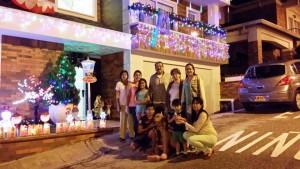 Esta familia relató que pasan la Navidad unidos, tanto en las fiestas como en el proceso de decoración de su casa ubicada en Ruitoque Condominio.  - Suministrada /GENTE DE CAÑAVERAL