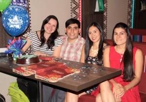 Tatiana Rugeles, Juan Camilo Utrera, Andrea Puentes y Lizeth Velandia.  - Javier  Gutiérrez / GENTE DE CAÑAVERAL